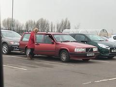 940 Celebration (Sam Tait) Tags: car retro classic 1997 red estate lpt turbo grille crate egg celeration 940 volvo