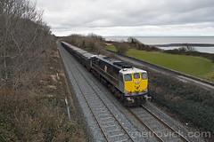 074 at Ardgillan 23-Mar-18 (metrovick) Tags: irish rail irishrail iarnrodeireann ie071class ie074 074 taramines oretrain ardgillan railroad railway railwaydublin emd emdexportloco jt22cw
