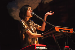 Half Waif @ Symphony Hall 1 (preynolds) Tags: gig concert livemusic dof canon5dmarkii mark2 raw tamronsp70200f28divcusd tamron70200 frontwomen singer singing stage stagelights keyboards birmingham noflash indie rock alternative music musician counteractmagazine