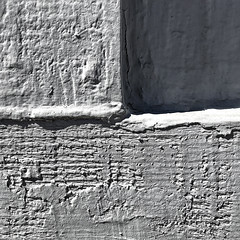 somewhat symmetrical quasi-quad (MyArtistSoul) Tags: ventura ca rough paint wood textures contrasty shadow crack thick semiquad semibilateral kindasymmetrical simple minimal closeup monochrome zw greyscale bw urban square 1346 iphone7