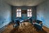 Blue room (Oto Burger) Tags: blue urban exploration urbanexploration abandoned abandonedroom forgotten decay