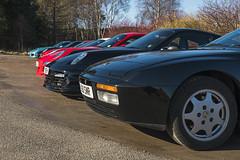 Porsche Front (syf22) Tags: porsche porscheclubgbregion2 car motor motorcar motorised auto autocat automobile germanmade madeingermany flatsix flat6 boxerengine carriage coupé sportcar transport fronts black 944s2 frontengine group
