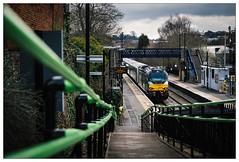 Lye Cat (Gingydadtog) Tags: chilternrailways class68 drs diesel locomotive lye lyestation passengertrain stourbridge westmidlands