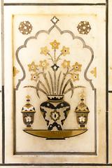 Pietra Dura 3 (Mike Legend) Tags: india agra itimad baby taj pietra dura inlay decoration patterns