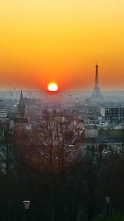 539 Paris en Février 2018 - rue Piat, Belvédère de Belleville