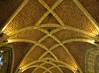 Gewölbe / Vault (schreibtnix on 'n off) Tags: reisen travelling belgien belgium städte towns lüttich liège architektur architecture kirchen churches kathedralen cathedrals stpaul gotik gothicstyle strukturen structures gewölbe vault kreuzgang cloister olympuse5 schreibtnix