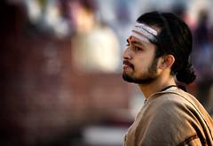 "A Hindu Teaching At Dawn, Varanasi (El-Branden Brazil) Tags: varanasi india indian ganges ganga ceremony hindu hinduism asian asia sacred holy mystical ""south asia"" sadhu"