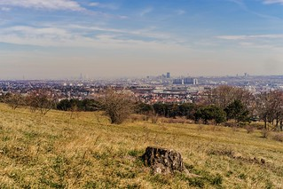 View from the heath on Vienna
