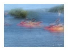Paddle (GR167) Tags: paddle painterly blur impressionism slowshutter icm iphoneography iphoneart kayak iphone