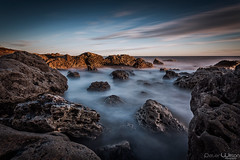 Chemical Beach (peterwilson71) Tags: seascape abandoned beautiful clouds cold canon6d daybreak sea exposure flow fast sky landscape longexposure motion nature ocean power rocks seashore tide travel sunrise