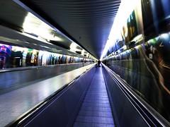 zone out (original.intent) Tags: vanishing point colors colours transfer purple underground passage confusing métro metropolitana passaggio paso de fuite punto di fuga fluchtpunkt ubahn