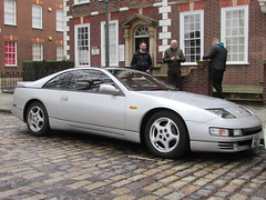 Nissan 300 ZX K323MGX (Andrew 2.8i) Tags: queen queens square bristol breakfast club show meet car cars classic jap japanese sports coupe sportscar z zx 300 300zx nissan z32