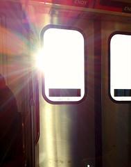 Bling! (Georgie_grrl) Tags: subway morning bling commute ttc light bright embracetheflare toronto ontario