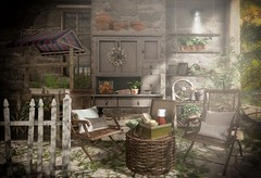 Picnic Basket (AGodenot) Tags: trompeloeil collabor88 anhelo applefall keke fameshed merak mudhoney bloom noctis pewpew secondspaces soy whatnext