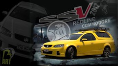 2012 Holden Commodore Redline SSV Ute (BD ART) Tags: power race racing road redline series auto wallpapers artistic bright speed engine v8 powerful exotic new graphics computer 2012 ssv yellow sexy montage colour color fast motor vehicle background australian utility ute art digital graphic wallpaper car sports commondore holden