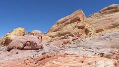 Too Bad You Didn't Get To Go To Valley Of Fire State Park With Me (Lone Rock) Tags: nevada valleyoffirestatepark gordon cottrell redrocks geology