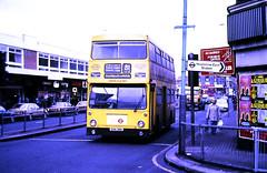 Slide 117-09 (Steve Guess) Tags: hounslow london england gb uk bus regional transport buslines lenwright dms daimler fleetline route81 ghy35n