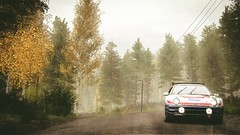 Ford RS200 @ Kailajärvi (Finland) (polyneutron) Tags: photography rally motorsport ford rs200 finland forest dirt pc automotive dark overcast trees