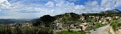 Galilea Panorama, Mallorca, ES (André-DD) Tags: galilea mallorca spain spanien espania majorca panorama view blick wolken clouds cloud wolke ort mittelmeer ozean see meer mediterraneansea