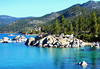 Sand Harbor, Lake Tahoe 2010 (inkknife_2000 (9 million views)) Tags: laketahoe nevada sandharbor dgrahamphoto lakeshoreline mountainlake rocksinwater forest alpinelake usa landscape waterscape