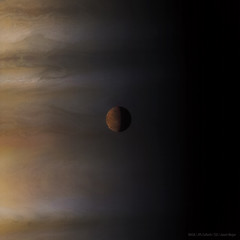 Ganymede (Lights In The Dark) Tags: nasa planets moons solarsystem space