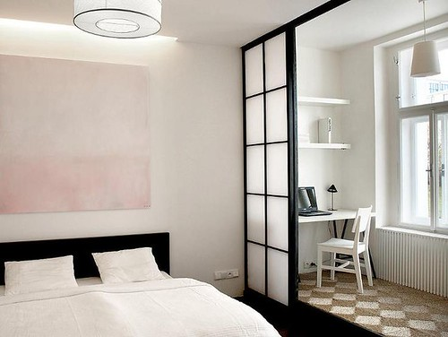 Furniture  - Bedrooms : SMALL+STYLISH IN EUROPE: Tiny Apartment in Prague. 4/6/2012 via Desire to Inspir...
