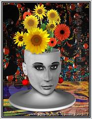 SUNFLOWERS (Artista Franzi) Tags: conceptual abstract mixedmedia abstractdigitalart art womens fineart phõtosgrápheinartist surrealism digitalart photomanipulation metaphysics surreal
