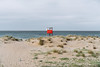 loneliness (19seconds) Tags: beach sea water sand plants crete red baywatch greece travel κρήτη