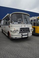 DAF B1300 DD468 / 1967 met kenteken AB-56-73 bij het Nationaal Bus Museum in Hoogezand 14-04-2018 (marcelwijers) Tags: daf b1300 dd468 1967 met kenteken ab5673 bij het nationaal bus museum hoogezand 14042018 camper kampeerwagen classic oldtimer klassieker coach touringcar dutch touristbus drenthe nederland niederlande netherlands pays bas