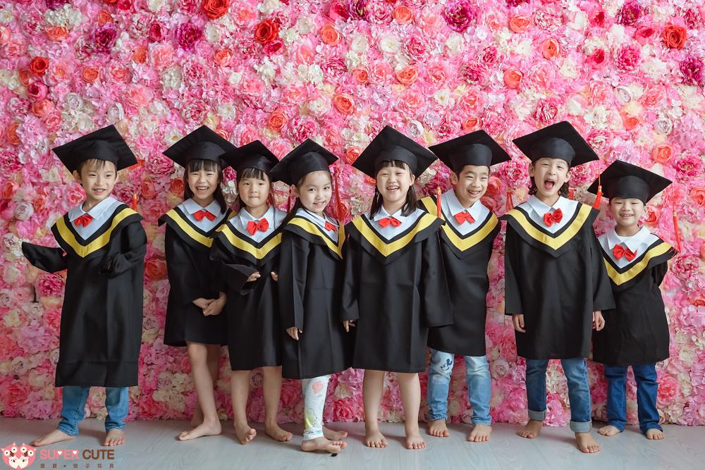 SuperCute親子寫真-幼稚園畢業照寫真-幼稚園-畢業照-小朱爸