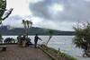 Fishing 6757 (Ursula in Aus (Away Travelling)) Tags: asia bali puraulundanubratan tabanancandikuning temple templeulundanubratan iphone iphone6 indonesia bratan beratan