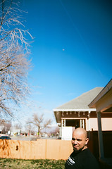clear skies call for.... (janette_j) Tags: blue clear skies ektar 100 35 mm film nikon n65