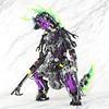 Moc: Slizer Spark / Throwbot Spark (IGU.) Tags: lego bionicle herofactory slizer technic robot mech moc kaiju