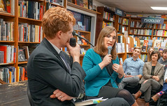 2018.03.20 Sarah McBride and Rep Joe Kennedy, Politics and Prose, Washington, DC USA 4113