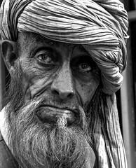 man from Kashmir (robertoburchi1) Tags: portrait people blackwhite bianconero ritratto persone