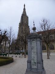 bern minster (richie rocket) Tags: switzerland lasuisse bern swisscapitalcity bernminster cathedral