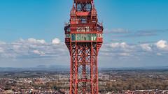 Blackpool Tower (Starman_1969) Tags: beach blackpool carpet comdedy dji inspire sunny tower england unitedkingdom gb