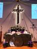 Easter Sunday Altar (byzantiumbooks) Tags: werehere hereios altar easter cross
