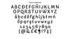 Arlette sneak peek: Expanding the sans perception (TypeTogether) Tags: pilarcano ferranmilan arlette workinprogress sneakpeek preview organic sansserif multiscript multilingual latin thai script manicule swashes