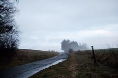 trübe Aussichten (Ronny-1976) Tags: grebenaualsfeld lutherweg nebel schilder strasen wege