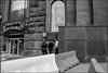 DRD160605_0587 (dmitryzhkov) Tags: russia moscow documentary street life human monochrome reportage social public urban city photojournalism streetphotography people bw dmitryryzhkov blackandwhite everyday candid stranger conversation speak corner angle door gate fence enclosure group bunch smoke smoker