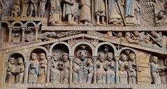 Iglesia abacial de Sainte-Foy / Conques / Aveyron (41) / França / France / Francia (Ull màgic (+1.500.000 views)) Tags: conques aveyron france frança francia romànic románico església iglesia pòrtic pórtico escultura art edifici arquitectura fuji xt1 abadía
