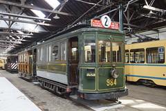 Tram 984 in het Museum voor het Stedelijk Vervoer te Brussel 07-04-2018 (marcelwijers) Tags: tram 984 het museum voor stedelijk vervoer te brussel 07042018 strassenbahn tramway belgie bruxelles belgium belgien