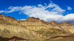 20180314_Death_Valley_118 (petamini_pix) Tags: california deathvalley deathvalleynationalpark desert landscape artistspalette artistspalettedrive mountains colorful hills clouds panoramic