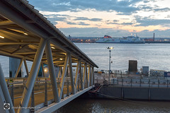 A Hub to the A to B Industry. (alundisleyimages@gmail.com) Tags: linkspan bridge ferryterminal shipping sailing rivermersey ferry water dusk weather tidal sunset stenaline merseyferries birkenhead liverpool pierhead publictransport gangway waterfront merseyside portsandharbours