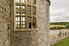 Carew Castle, Wales (Keith in Exeter) Tags: carew castle pembrokeshire wales ruins window stonework building architecture landscape water grass field tree wall