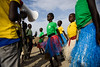 Dancers perform during an event organised at a child-friendly space run by UNICEF partner Woman Vision, in the Protection of Civilians (PoC) site, Bentiu, South Sudan, Friday 28 April 2017. Child-friendly spaces such as this one allow children to play and (Dining for Women) Tags: 12to18yearsold 6to11yearsold boy childreninconflictandemergencies displacedchildren displacedpeople displacementcamp girl internallydisplacedperson ruralarea sportandplay southsudan