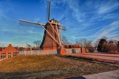 Golden Hour at the Dutch Windmill (kendoman26) Tags: deimmigrantwindmill dutchwindmillfultonillinois windmill hww happywindmillwednesday goldenhour fultonillinois hdr nikhdrefexpro2 nikon nikond7100 tokinaatx1228prodx tokina tokina1228