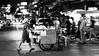 Street Vendor in Bangkok (Simon BOISVINET) Tags: 2014 bangkok thailande voyage acros photography blackandwhite trip vendor rue street