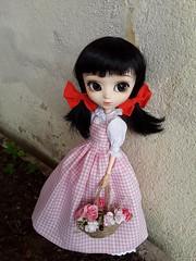 Fake outfits - Himawari (Lunalila1) Tags: doll groove pullip cinderella dahlia handmade dress clothes outfit fake himawari costura junichi nakahara